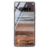 Wood Grain Varigegated Samsung S10 Plus Glass Case