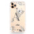 Vintage Floral Monogram iPhone 11 Pro Max Frosted Bumper Case