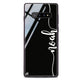 Vertical Script Handwritten Samsung S10 Plus Glass Case