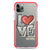 Cartoon Love Shockproof Bumper Case