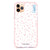 Pinky Hearts Frosted Bumper Case