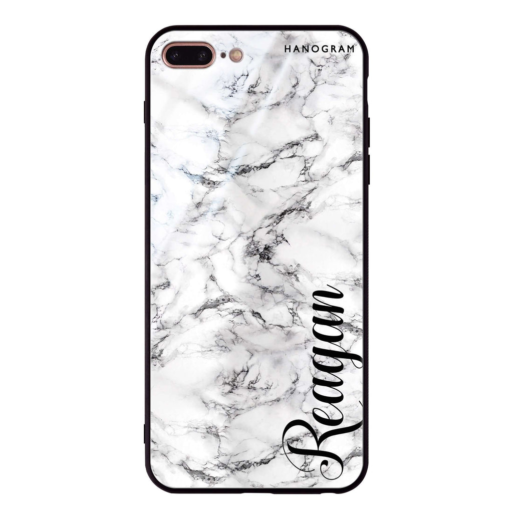 Grand Marble iPhone 8 Plus Glass Case