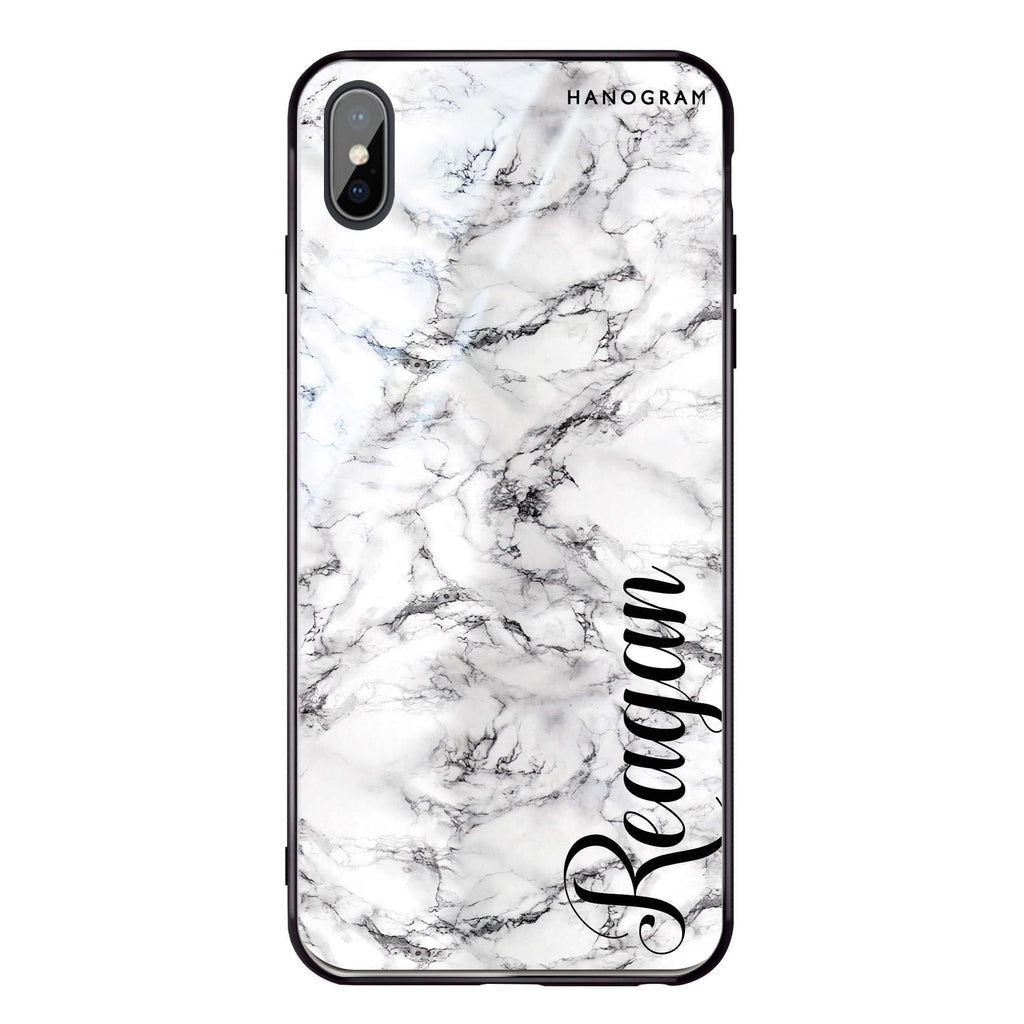 Grand Marble iPhone XS Max Glass Case