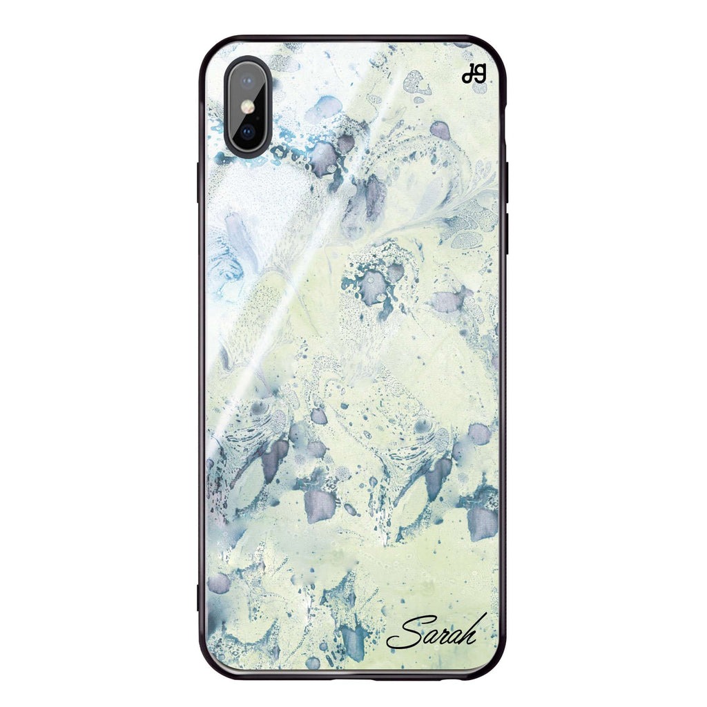 Vintage Marble iPhone XS Max Glass Case