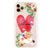 Floral Love Letter Shockproof Bumper Case