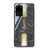 Luxury Gold Marble Samsung Glass Case