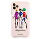 Artistic Girls iPhone 11 Pro Max Shockproof Bumper Case