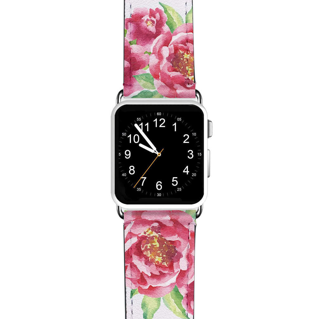 Watercolor Rose APPLE WATCH BANDS