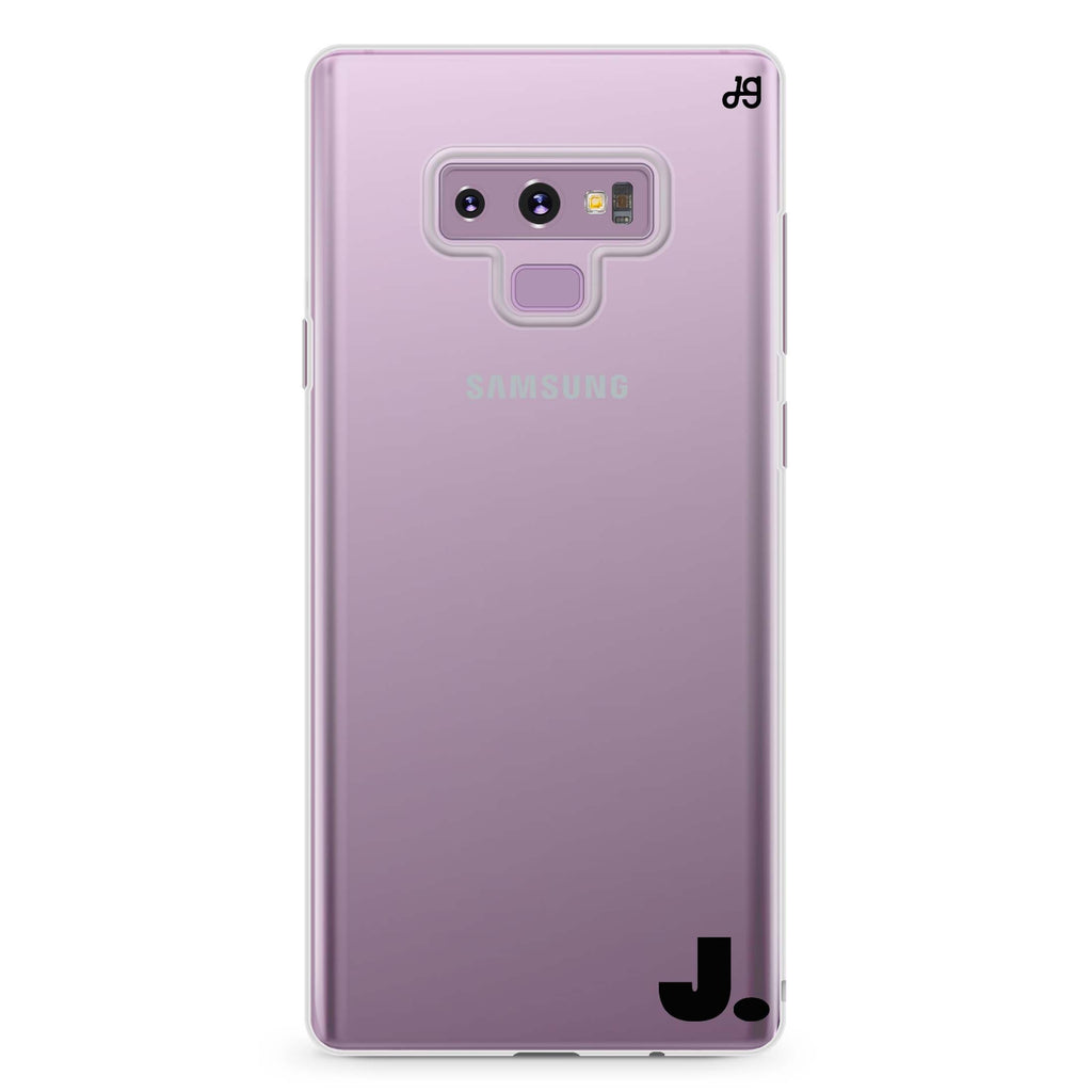 Single Samsung Note 9 Soft Clear Case