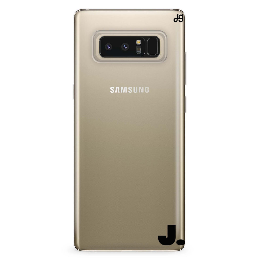 Single Samsung Note 8 Soft Clear Case
