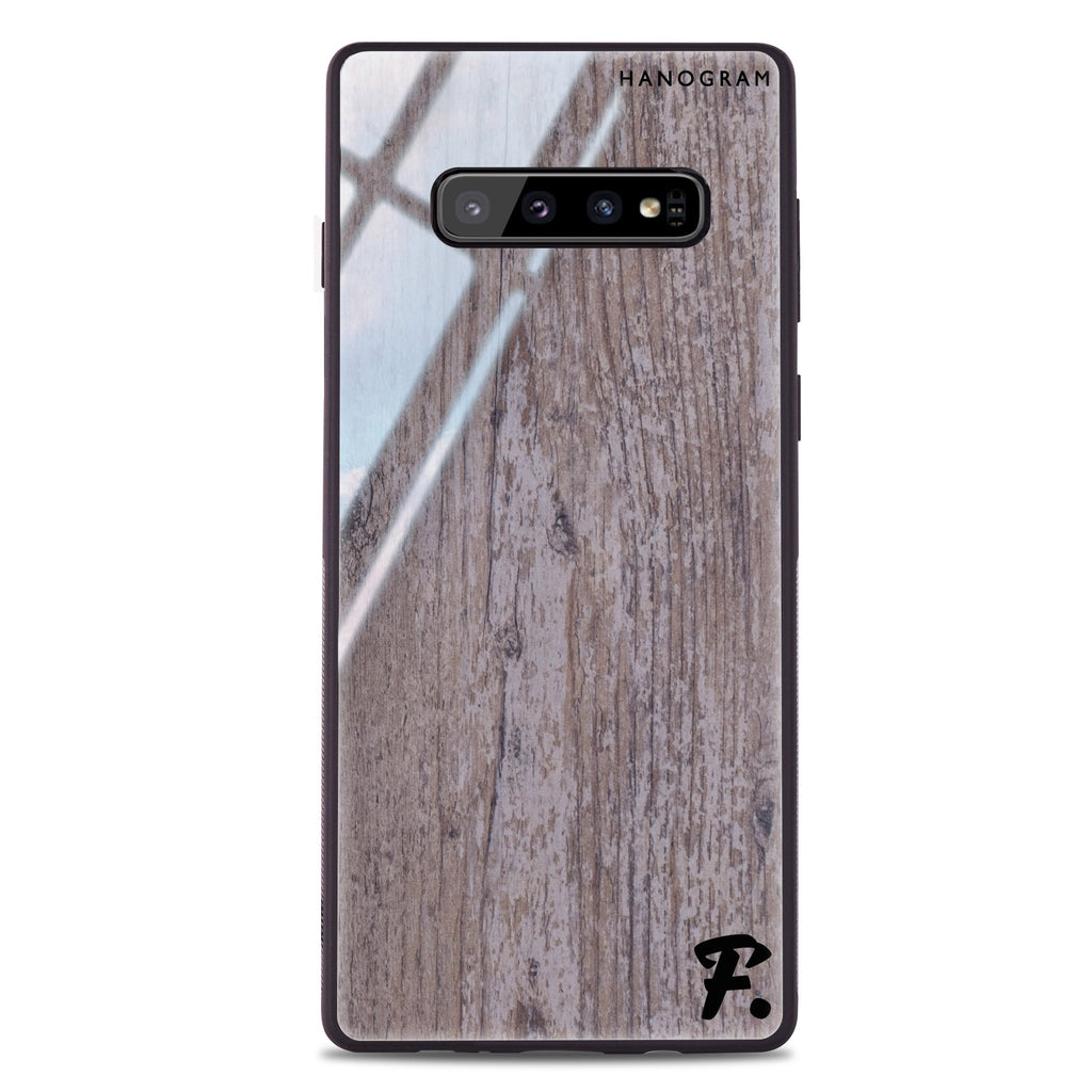 Timber Samsung S10 Plus Glass Case