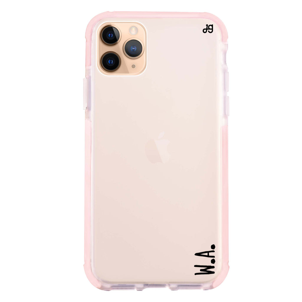 Causal Written Custom iPhone 11 Pro Max Shockproof Bumper Case