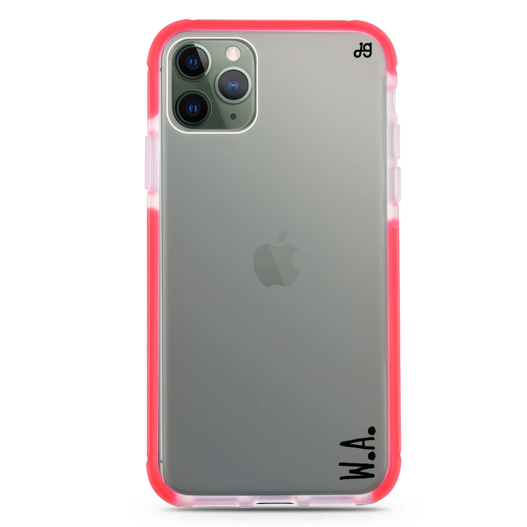 Causal Written Custom Shockproof Bumper Case