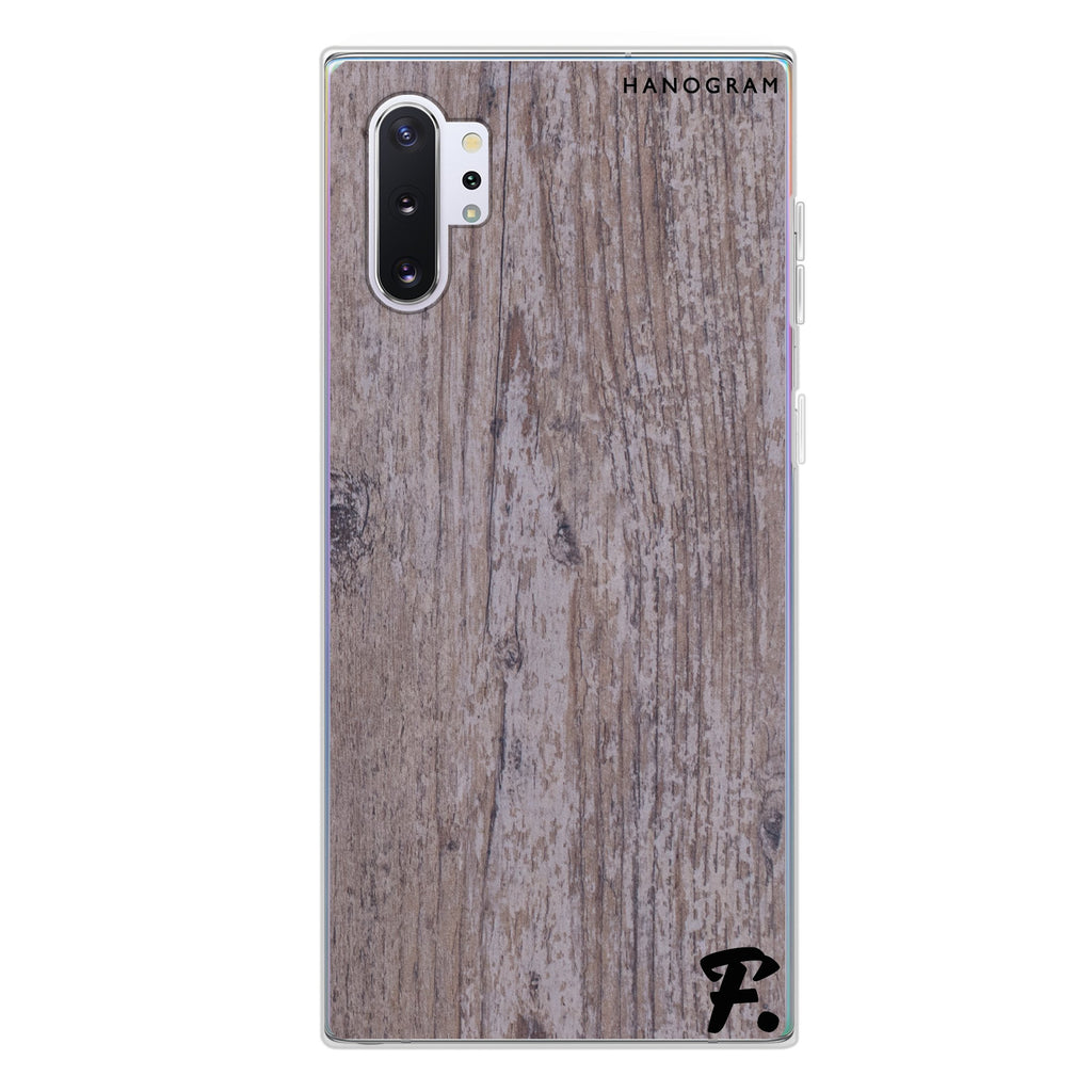 Timber Samsung Note 10 Plus Soft Clear Case
