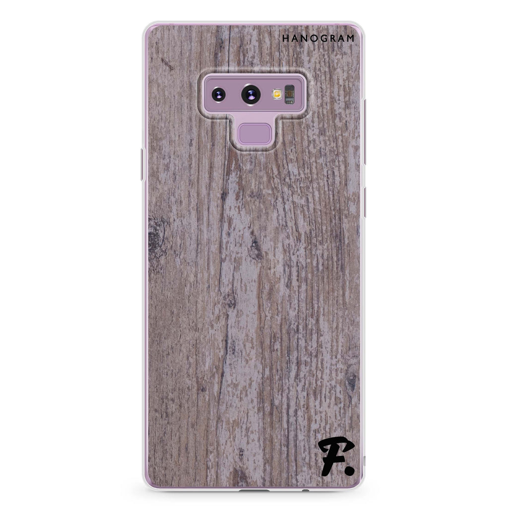 Timber Samsung Note 9 Soft Clear Case