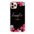 Stunning Floral Frosted Bumper Case