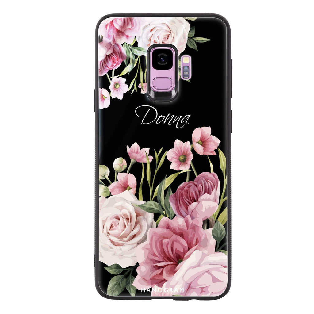 Beautiful Flowers Samsung S9 Glass Case
