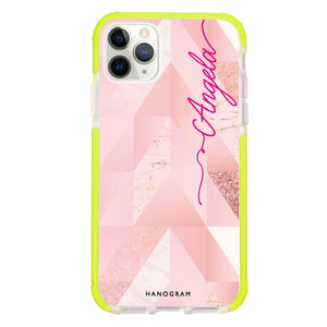 Marble Abstract IV Frosted Bumper Case
