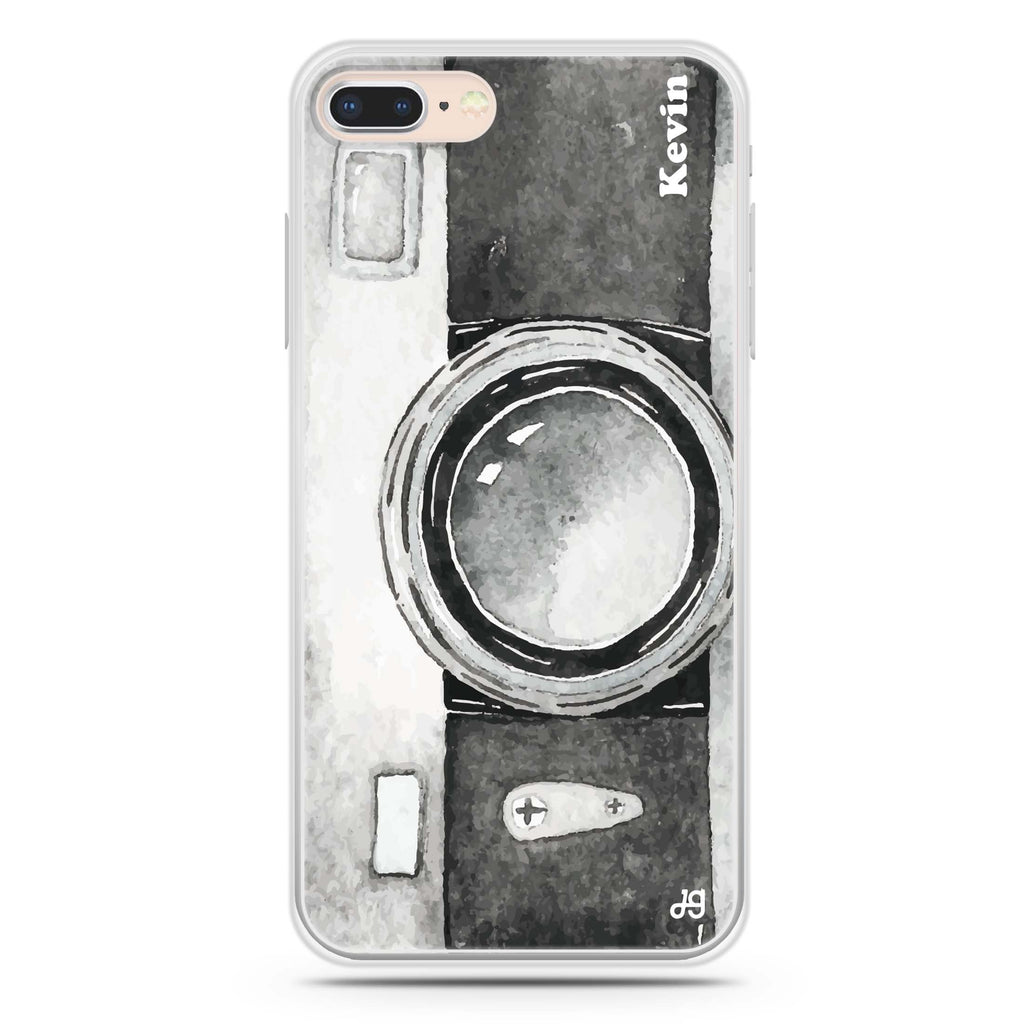 Fashion Camera iPhone 8 Soft Clear Case