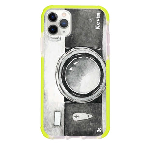 Fashion Camera Frosted Bumper Case
