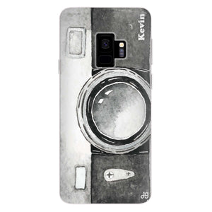 Fashion Camera Samsung S9 Soft Case