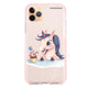 Rainbow Unicorn And Cupcake Frosted Bumper Case
