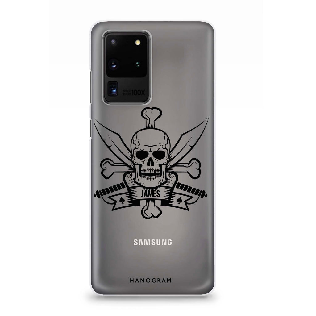 Skeleton Samsung S20 Ultra Soft Clear Case