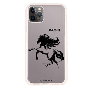 Jumping Horse Frosted Bumper Case
