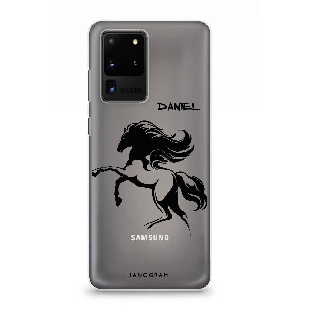Jumping Horse Samsung S20 Ultra Soft Clear Case