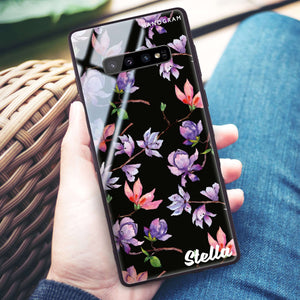 Color In Spring Samsung S10 Plus Glass Case
