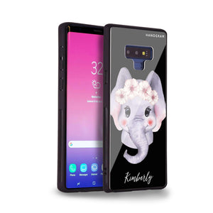 Baby Elephant Samsung Note 9 Glass Case