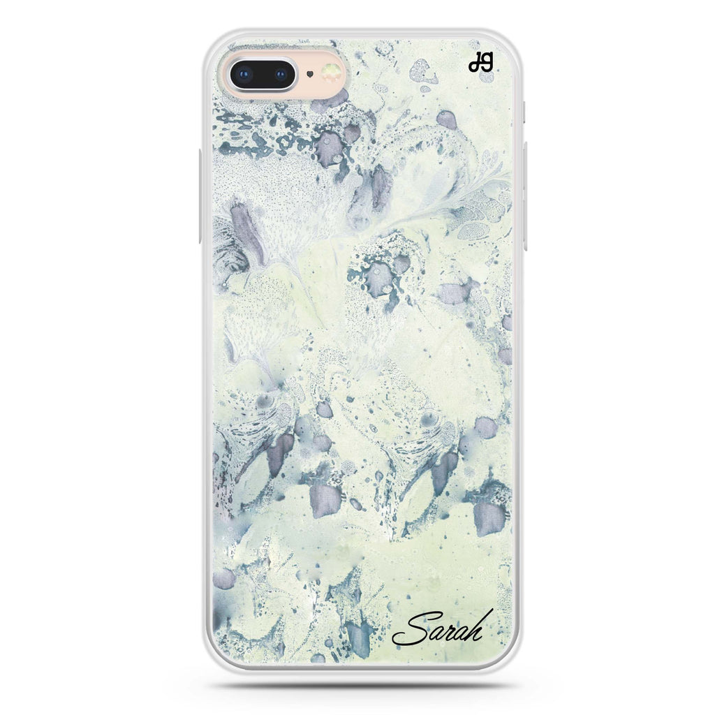 Vintage Marble iPhone 8 Soft Clear Case
