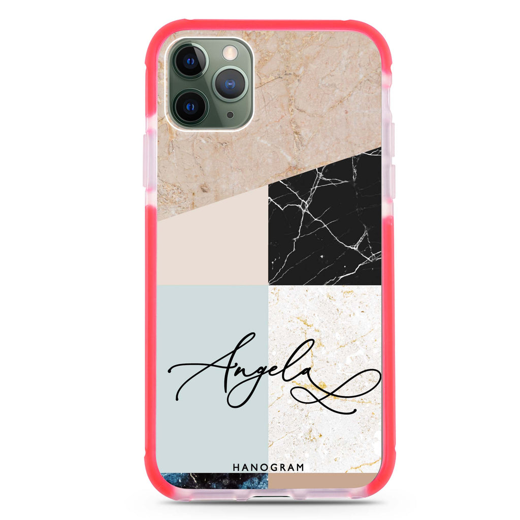 Marble Abstract V Shockproof Bumper Case