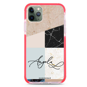 Marble Abstract V Frosted Bumper Case