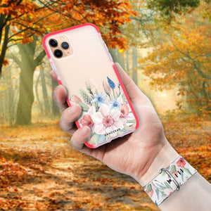 My Glamour Floral - Frosted Bumper Case and Watch Band
