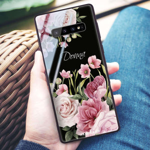 Beautiful Flowers Samsung S10 Plus Glass Case