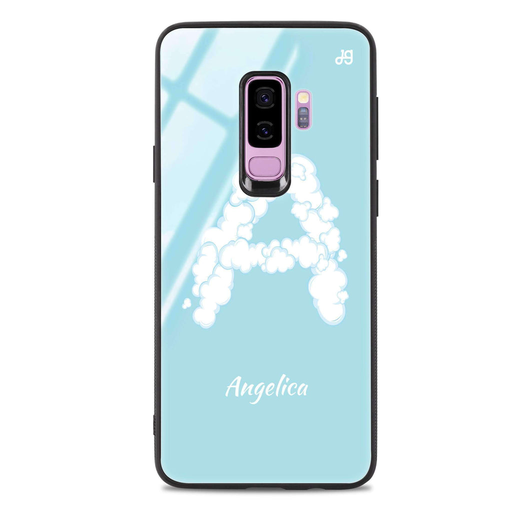 Monogram Clouds Samsung S9 Plus Glass Case