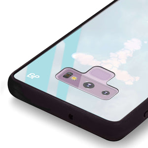 Monogram Clouds Samsung Note 9 Glass Case