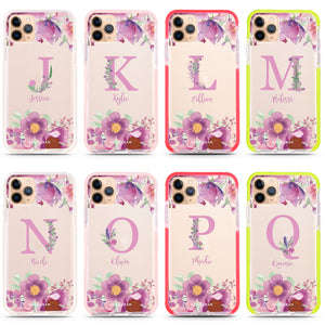 Gorgeous Monogram iPhone 11 Pro Max Frosted Bumper Case
