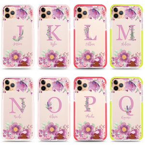 Gorgeous Monogram Frosted Bumper Case