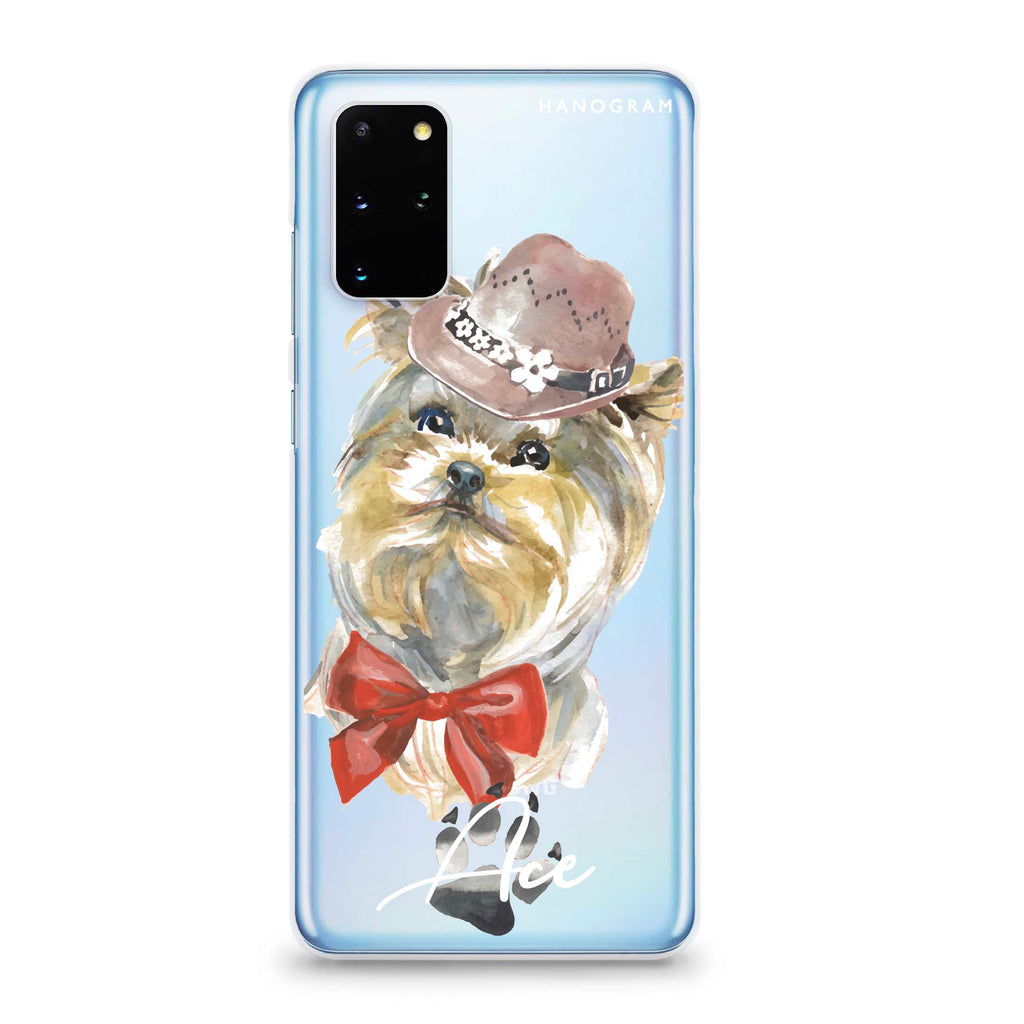 Yorkshire Terrier Samsung S20 Plus Soft Clear Case
