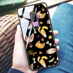 BOW BOW Samsung S9 Plus Glass Case