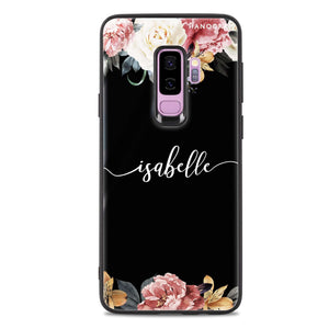 Art of Classic Floral Samsung S9 Plus Glass Case