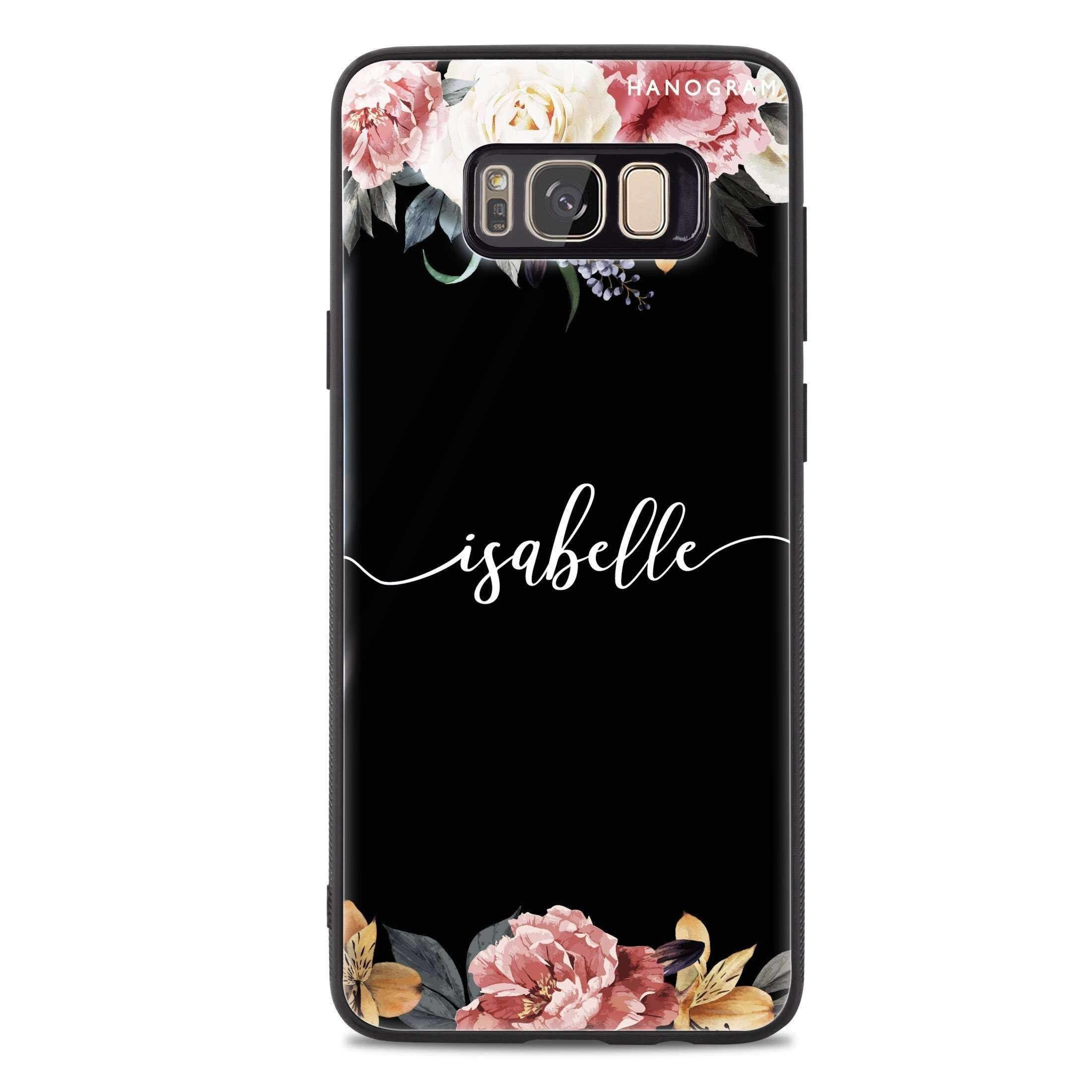 Art of Classic Floral Samsung S8 Plus Glass Case