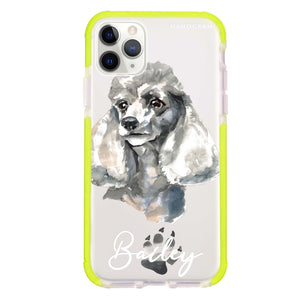 Poodle Frosted Bumper Case