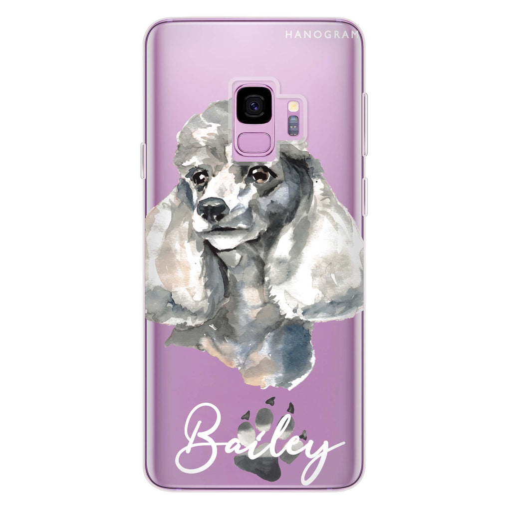 Poodle Samsung S9 Soft Clear Case