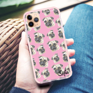 PugPug Shockproof Bumper Case
