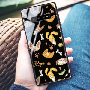BOW BOW Samsung S10 Plus Glass Case