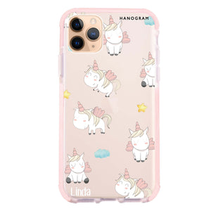 Baby Cute Unicorn Frosted Bumper Case