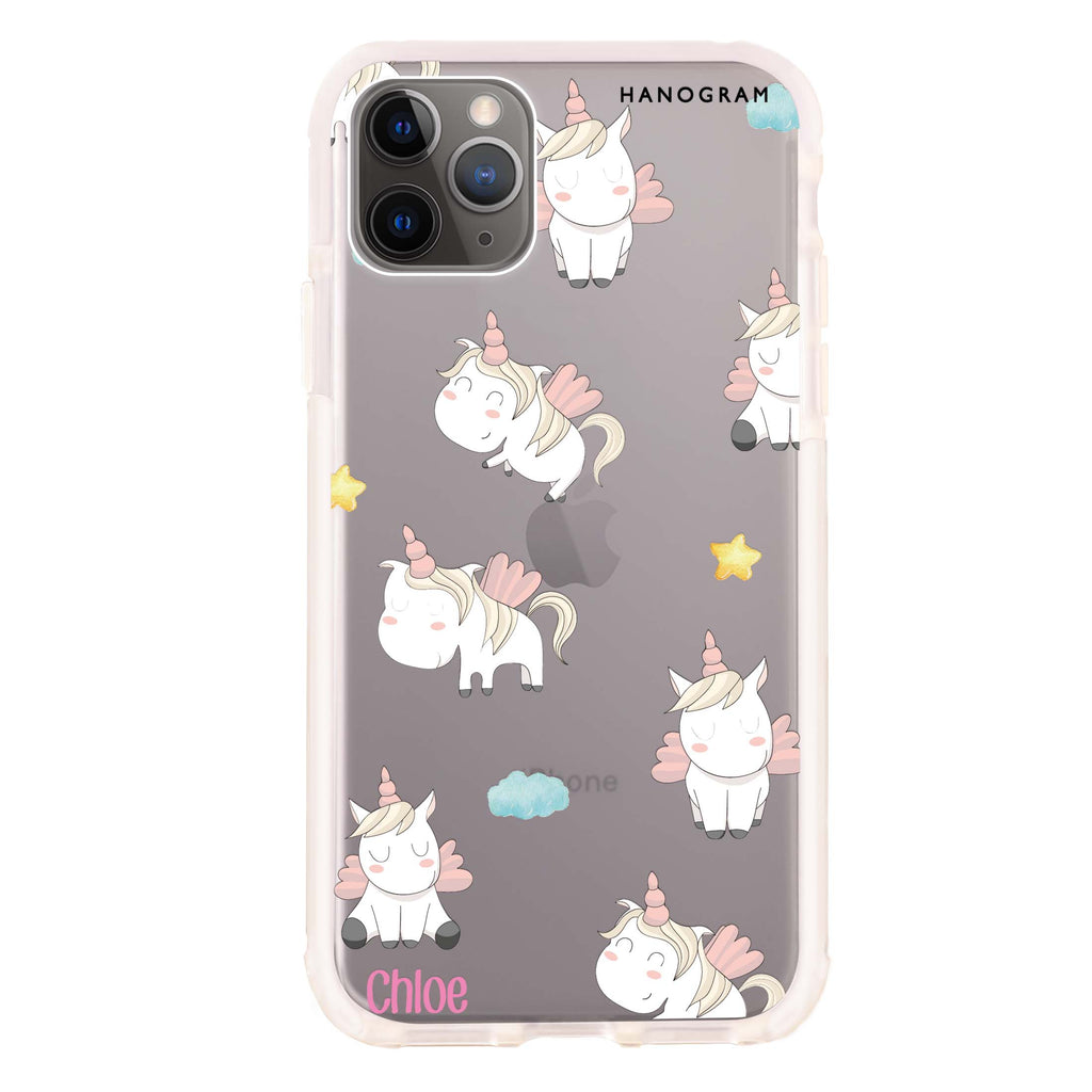 Baby Cute Unicorn Shockproof Bumper Case